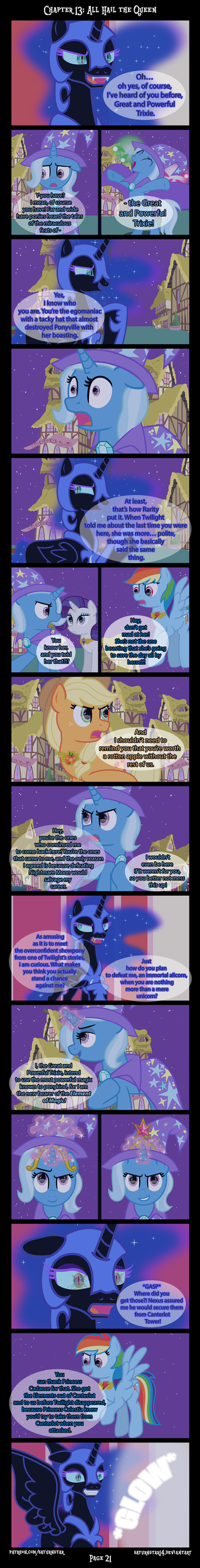 Past Sins: All Hail The Queen P21 by SaturnStar14