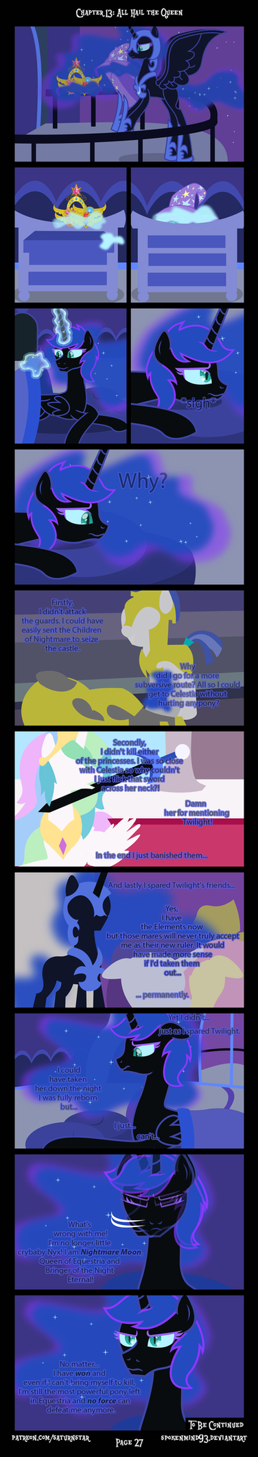 Past Sins: All Hail The Queen P27 END by SpokenMind93