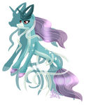 SOLD 245 Suicune ADOPTABLE