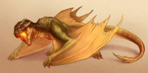 Dragon Concept by XabiGazte