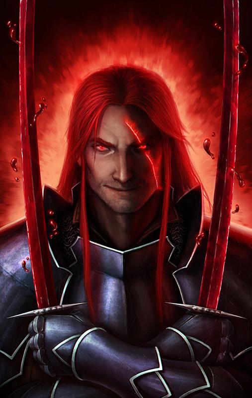 The Crimson Warrior by XabiGazte