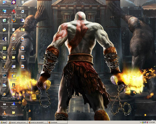 I heart Kratos by awrah