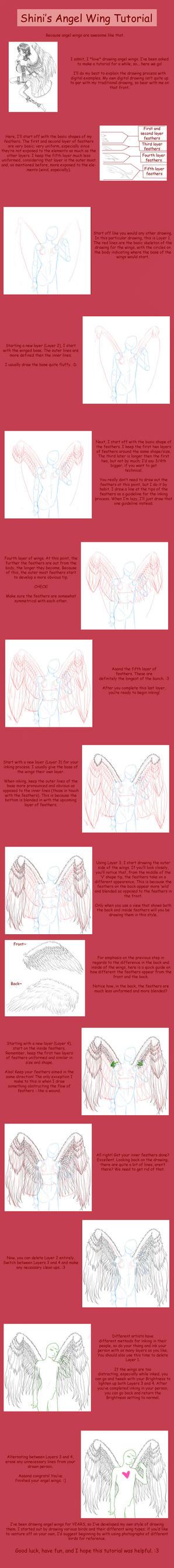 Angel Wing Tutorial by ShiniVasyenka