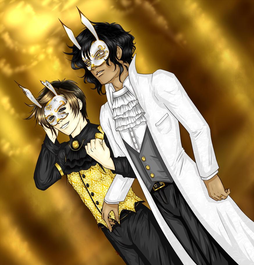 WTNV: Masquerade by ShiniVasyenka