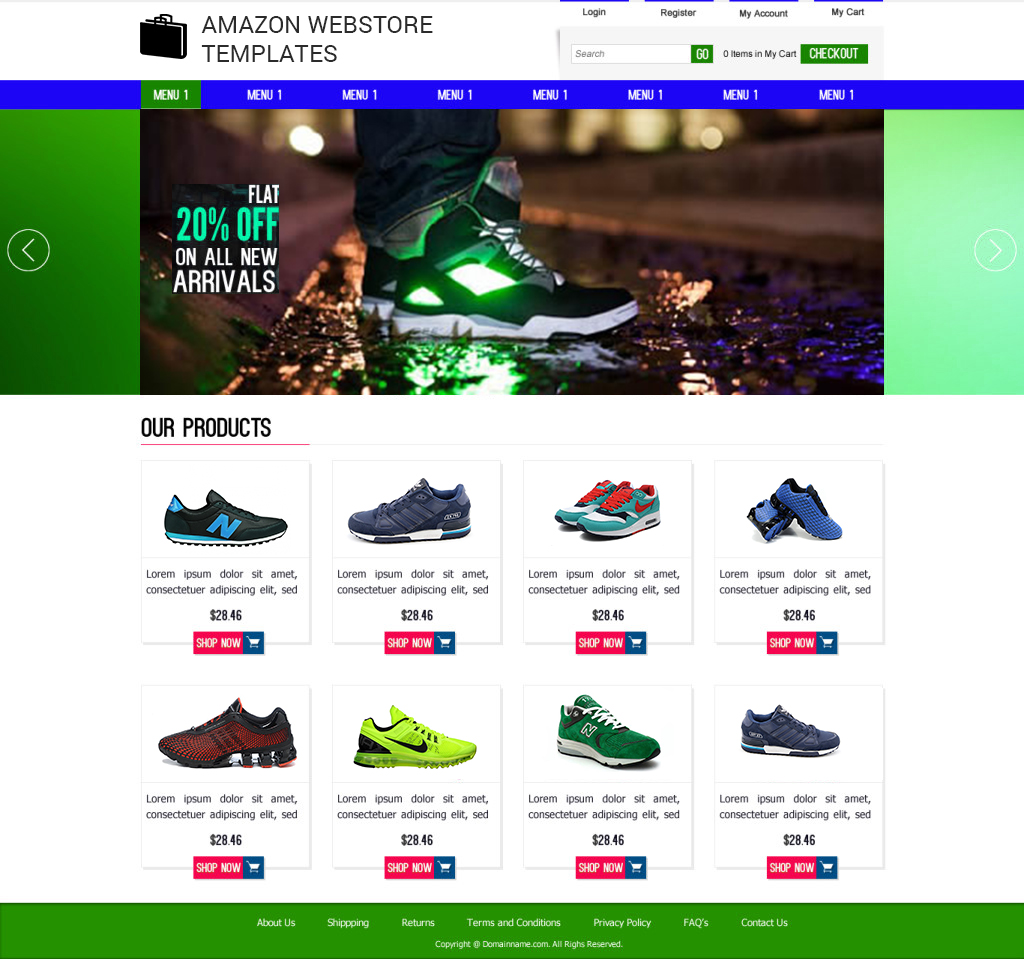 Amazon Store Templates. cheap template for online store and ...