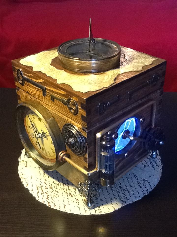 Le cube de l'industrie by ArtbugCarl