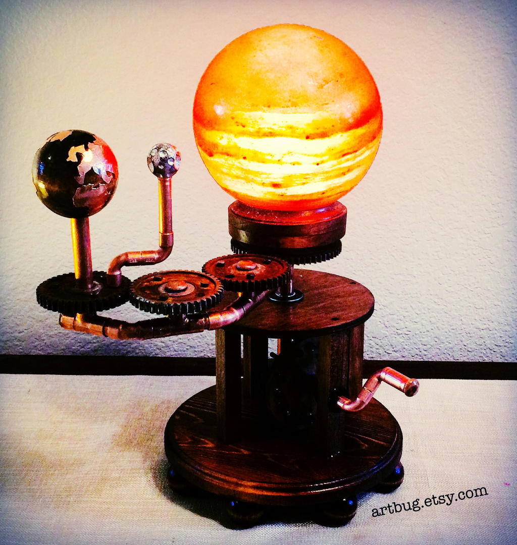 Himalayan Salt Lamps Reddit : Himalayan salt lamp orrery by ArtbugCarl on DeviantArt
