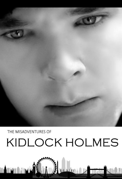 The Misadventures of Kidlock Holmes (Cover) by ShadowVanHelsing
