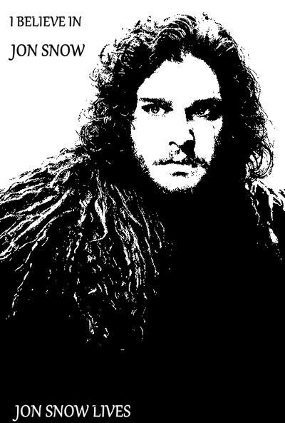 I believe in Jon Snow by ShadowVanHelsing