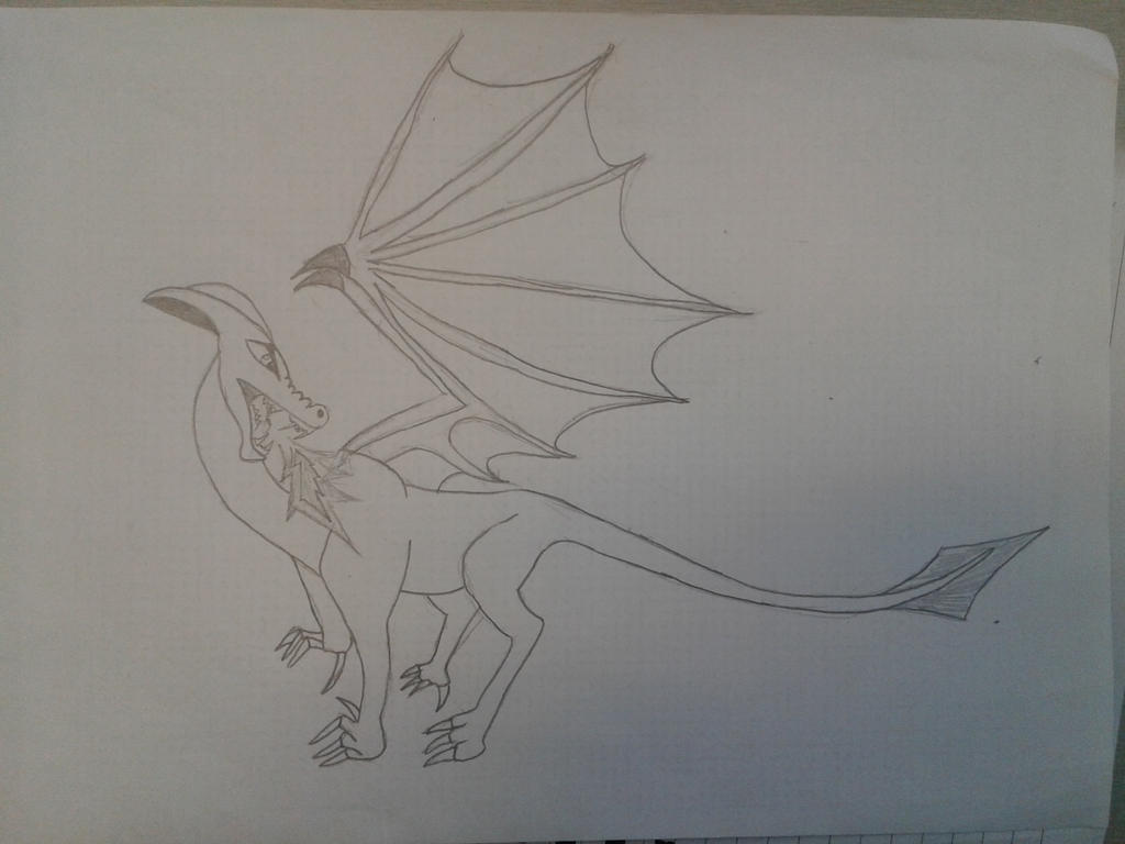 Dragon by ShadowVanHelsing