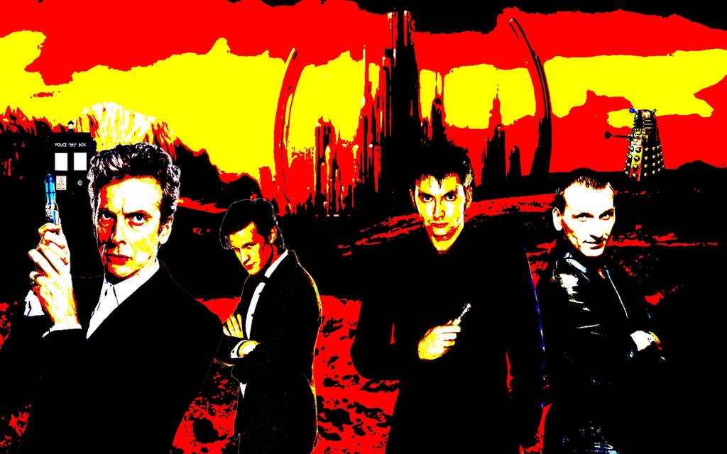 Doctor Who Reboot Series Posterise by ShadowVanHelsing