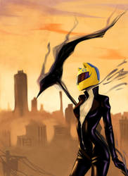 Celty by RickValentine
