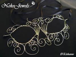 Wire Moon Mask by Elehanne