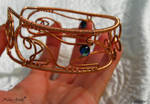 Celtic Whippets cuff