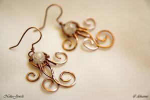 Little Comets earrings by Elehanne