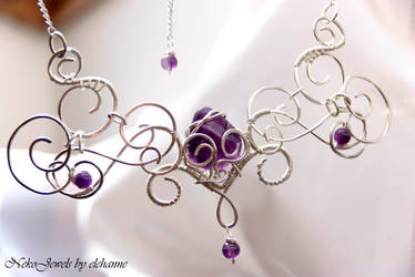 Luthien - for an elven queen who love amethyst by Elehanne