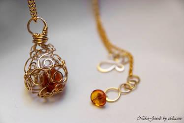 Gold Dragons Egg by Elehanne
