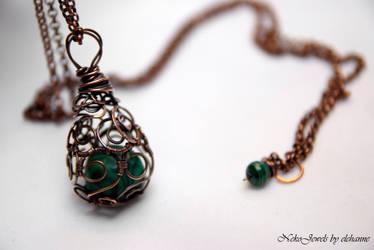 Green Dragons Egg by Elehanne