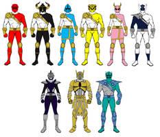 WJones215verse Sentai 2 - Go-Sabers by wjones215