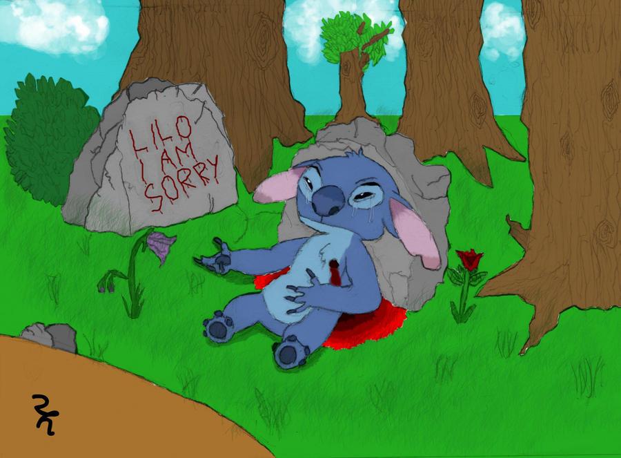 Stitch -Dying Alone- by Shutdp