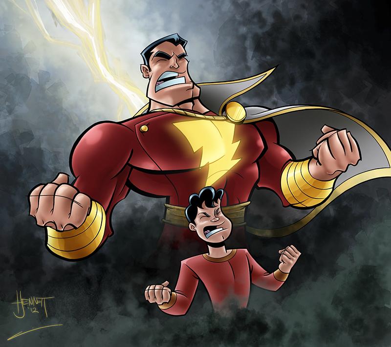 shazam captain marvel - photo #2