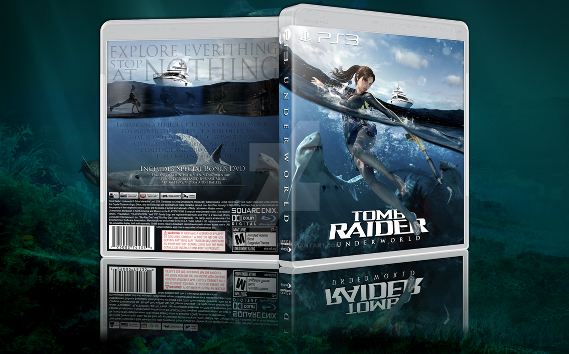 [Box Art] Tomb Raider: Underworld by Richard-Croft