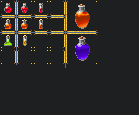 Potions by Pythang