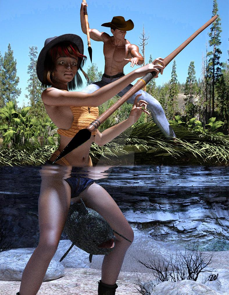 Fishing 101 by mechmorphosis