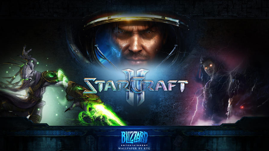starcraft 2 wallpapers. Starcraft 2 - Wallpaper by