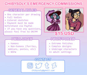 Emergency Commission info