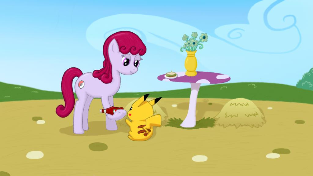 A Pony Pokemon Master