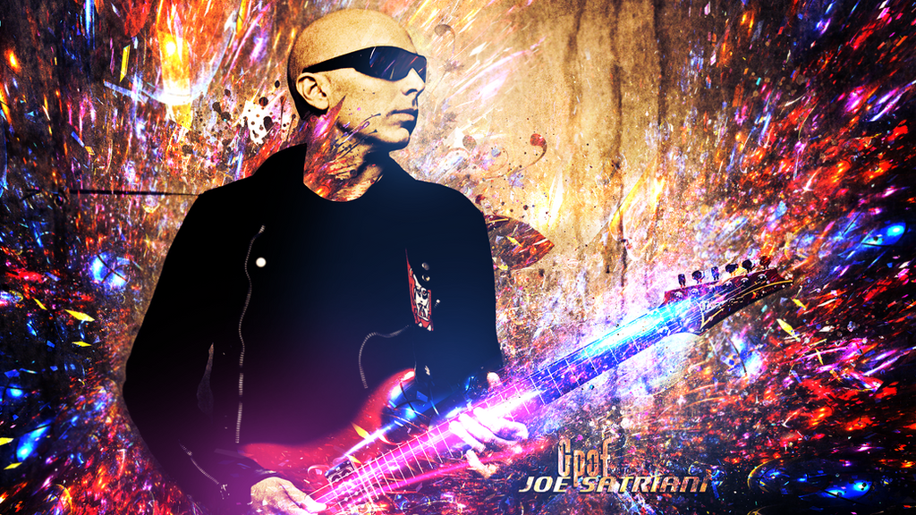 Joe Satriani Wallpaper by Gpof7