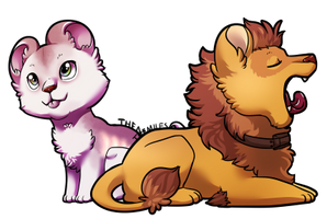 Lil Lions by TheMiles