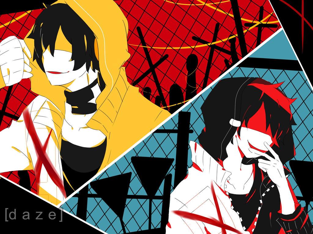 Kuroha Kagerou Kuroha and Kagerou [ d...