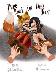 Pure Heart and Dark Heart by MrTenacious01