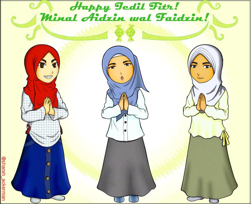 Happy Iedil Fitr! 1437 H by SheraHazzel2613