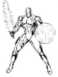The Christian Knight - Modern by christianknightart