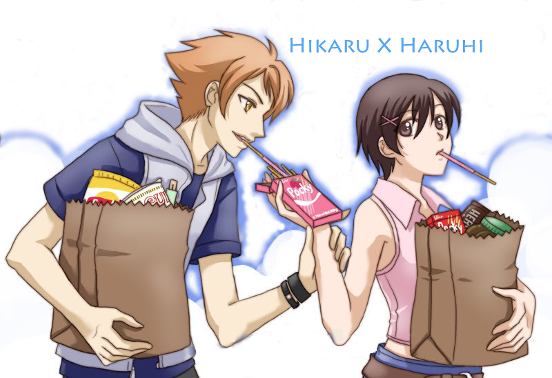 the gallery for gt hikaru and haruhi cookie