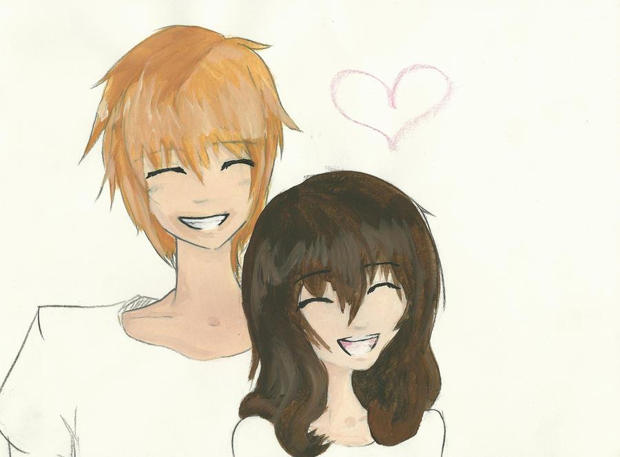 Cute anime couple 2 by nekomimi11 on deviantart cute anime couple 2 by nekomimi11 altavistaventures Images