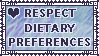 Respect Dietary Preferences by Bakerize