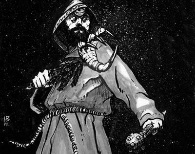 Druid Claw by IanBaggley