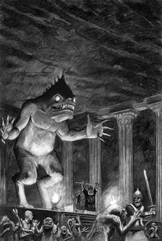 Back Cover (Dagon) - Tales of Peril