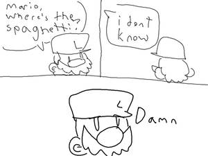 Crude Mario Bros: No Spaghetti