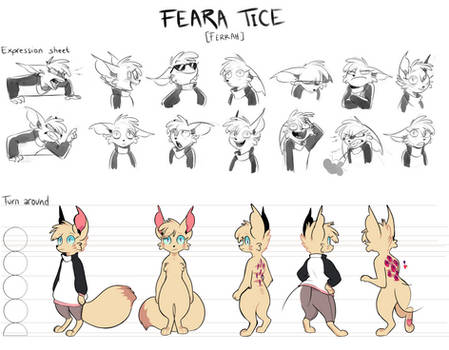 Feara - Character Sheet