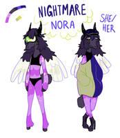 Nightmare Nora by pollovy