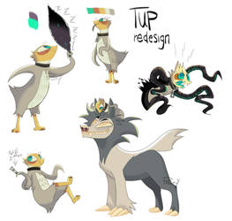 TUP redesign / contest entry