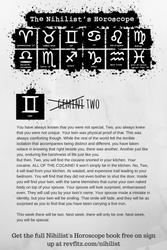 The Nihilist's Horoscope: Gemini