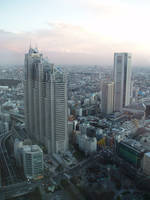 Stock: Tall Buildings in Tokyo by AntiRetrovirus