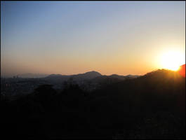 Sky High Sunset by AntiRetrovirus