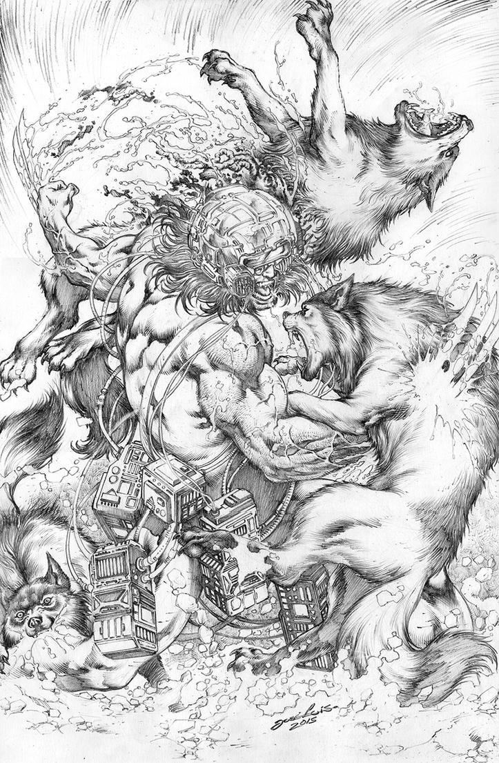 Wolverine Origem PinUp JL by JoseLuisarts